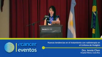 Nuevas tendencias en el tratamiento con radioterapia en el Linfoma de Hodgkin. ( Dra. Jennie Chen Lo - Hospital México, Costa Rica )