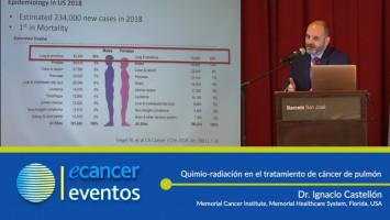 Quimio-radiación en el tratamiento de cáncer de pulmón. ( Dr. Ignacio Castellón - Memorial Healthcare System Hollywood, Florida, USA. )