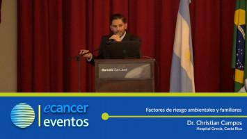Factores de riesgo ambientales y familiares. ( Dr. Christian Campos - Hospital Grecia, Costa Rica. )