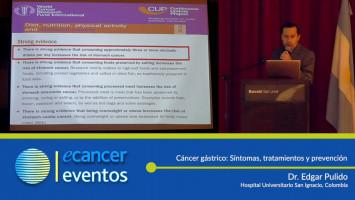 Cáncer gástrico: Síntomas, tratamientos y prevención. ( Dr. Edgar Pulido - Hospital Universitario San Ignacio, Colombia )