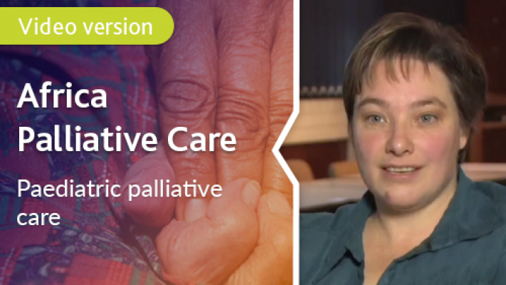 Paediatric Palliative Care