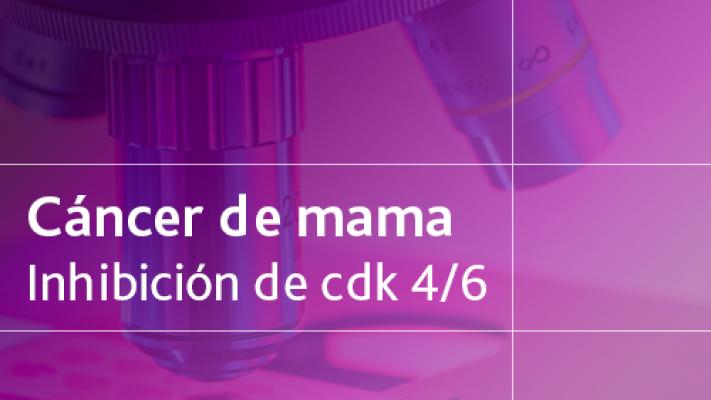 Cáncer de mama: Inhibición de CDK 4/6