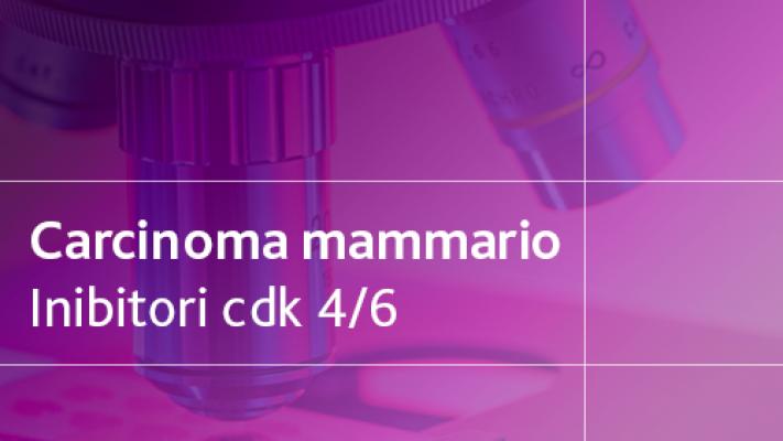 Carcinoma Mammario Inibitori CDK 4/6