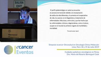 Cuidados paliativos oncológicos en Perú. ( Dra. Maria del Rosario Berenguel Cook - Jefe médico Totalcare Oncosalud Auna, Perú )