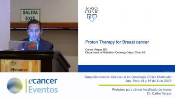 Protones para cáncer localizado de mama. ( Dr. Carlos Vargas - Clínica Mayor Arizona, USA )