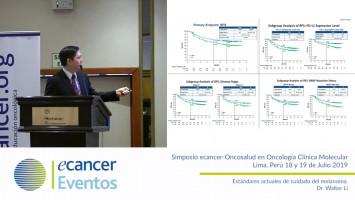 Estándares actuales de cuidado del melanoma. ( Dr. Walter Li - Oncosalud Auna, Perú )