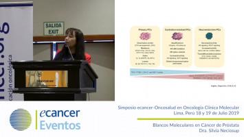 Objetivos moleculares en el cáncer de próstata. ( Dra. Silvia Neciosup - Oncosalud Auna, Perú )