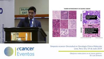 Objetivos moleculares en el cáncer gástrico. ( Dr. Luis Schwarz - Oncosalud Auna, Perú )