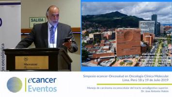 Manejo de carcinoma escamocelular del tracto aerodigestivo superior. ( Dr. Jose Antonio Hakim - Fundación Santa Fé de Bogotá, Colombia )