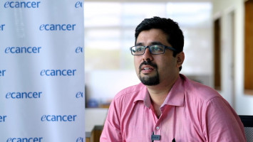 Discussing the treatment of head and neck tumours in India ( Dr Prateek Jain - Tata Medical Center, Kolkata, India )