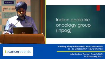 Indian Pediatric Oncology Group (InPOG) ( Dr. Ramandeep Arora - Max Institute of Cancer Care, Saket, New Delhi, India )