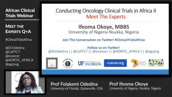 Meet the Expert: Prof Ifeoma Okoye ( Prof Ifeoma Okoye - University of Nigeria, Nsukka, Nigeria )