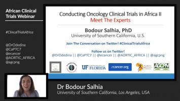 Meet the Expert: Dr Bodour Salhia ( Dr Bodour Salhia - University of Southern California, Los Angeles, USA )