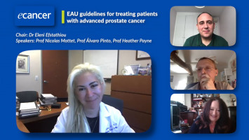 EAU guidelines for treating patients with advanced prostate cancer ( Dr Eleni Efstathiou, Prof Álvaro Pinto, Prof Nicolas Mottet and Prof Heather Payne )