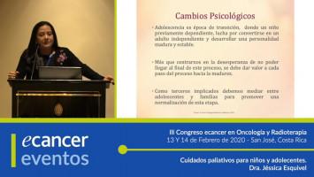 Cuidados paliativos para niños y adolecentes. ( Dra. Jéssica Esquivel - Hospital Nacional de Niños, San José, Costa Rica )