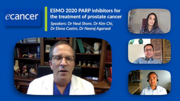 PARP inhibitors and their evolving role for the treatment of prostate cancer ( Dr Neal Shore, Dr Neeraj Agarwal, Dr Elena Castro and Dr Kim Chi )