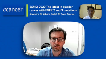 Latest in bladder cancer with FGFR 2 and 3 mutations ( Dr Yohann Loriot and Dr Scott Tagawa )