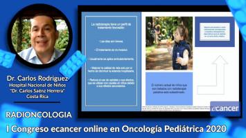 """Radioterapia paliativa en pacientes oncológicos pediátricos ( Dr. Carlos Rodriguez - Hospital Nacional de Niños """"Dr. Carlos Saénz Herrera"""", Costa Rica )"""