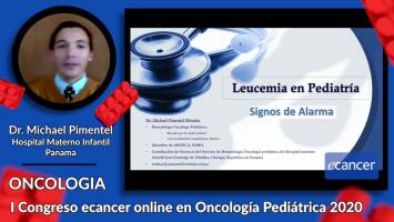 Leucemia en Pediatría. Signos de alarma ( Dr. Michael Pimentel Morales - Hospital Materno Infantil José Domingo de Obaldía Chiriqui, Panamá )