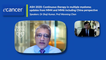 Continuous therapy in multiple myeloma; updates from MM4 and MM6 including China perspective ( Dr Shaji Kumar and Dr Wenming Chen )