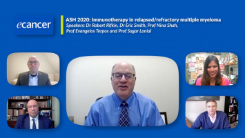 ASH 2020:  Immunotherapy in relapsed/refractory multiple myeloma ( Dr Robert Rifkin, Prof Sagar Lonial, Prof Evangelos Terpos, Dr Nina Shah, Dr Eric Smith )