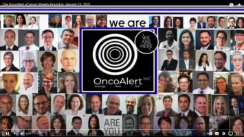 OncoAlert and ecancer weekly roundup for January 18 - 24, 2021 ( Dr Gil Morgan - Skåne University Hospital in Lund, Sweden )