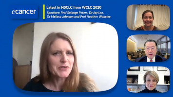 Latest in NSCLC from WCLC 2020 ( Prof Solange Peters, Dr Melissa Johnson, Prof Heather Wakelee and Dr Jay Lee )