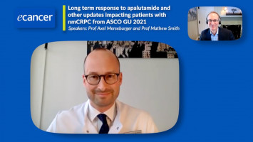 Long term response to apalutamide and other updates impacting patients with nmCRPC from ASCO GU 2021 ( Prof Axel Merseburger and Prof Matthew Smith )