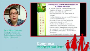 La importancia del cuidador ( Dra. Nisla Camaño Cuidados Paliativos Caja de Seguro Social, Panamá, Panamá )