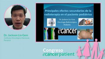 Principales efectos secundarios de la radioterapia en el paciente pediátrico ( Dr. Jackson Lío - Instituto Oncológico Nacional, Panamá )