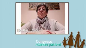 Mi experiencia: Cáncer de de Mama ( Ana Durá TASOC, Residencia Gormaget, Alcoy, Alicante )