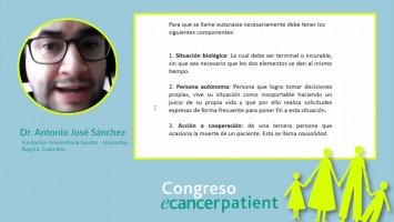 Eutanasia ( Dr. Antonio José Sánchez - Fundacion Universitaria Sanitas - Unisanitas, Bogotá, Colombia )
