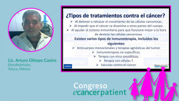 Sintomatologías Digestivas provocadas por los tratamientos oncológicos ( Lic. Arturo Olimpo Castro - OncoNutrición,Toluca, México )