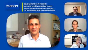 Developments in metastatic hormone-sensitive prostate cancer ( Prof Karim Fizazi, Prof Alicia Morgans, Prof Neeraj Agarwal and Prof Laura-Maria Krabbe )