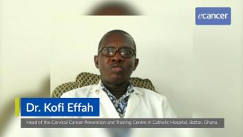 Using a novel cervical precancer screening approach to detect HPV in incarcerated women in Ghana ( Dr Kofi Effah, Catholic Hospital, Battor, Ghana )