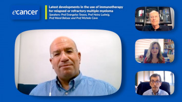 EHA 2021: Latest in immunotherapy for R/R multiple myeloma ( Prof Evangelos Terpos, Prof Heinz Ludwig, Prof Meral Beksac and Prof Michele Cavo )