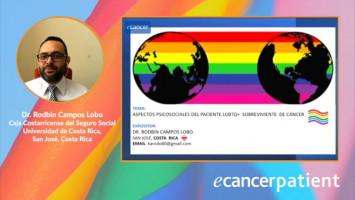 Aspectos psicosociales del paciente  LGBTQ+  sobreviviente de cáncer ( Dr. Rodbin Campos - Hospital México, Costa Rica )