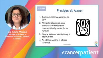 Construcción de planes de cuidado paliativo y fin de vida ( Dra. Julieta Moreno - Ministerio de Salud y Protección Social de Colombia, Colombia )