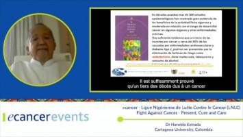Prevent Obesity: Physical activity ( Dr Haroldo Estrada - Colombia University, Colombia )