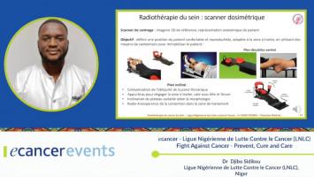 Breast cancer: Radiotherapy ( Dr Djibo Abdourahmane - Ligue Nigérienne de Lutte Contre le Cancer, Níger )