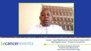 Importance of distance education ( Mr Ibrahima Madougou Moubarak - President Ligue Nigérienne de Lutte Contre le Cancer (LNLC), Níger )