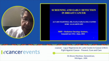 Early cancer detection through screening ( Dr. Alvaro Martínez - GenessisCare, Michigan, USA )