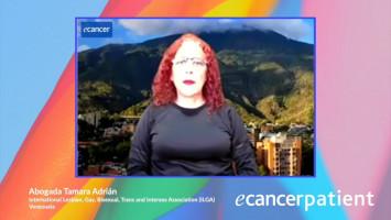 Prejuicios implícitos y explícitos y discriminación a la población LGBTI+, tratamiento del cáncer y cuidados paliativos ( Abogada Tamara Adrián - International Lesbian, Gay, Bisexual, Trans and Intersex Association (ILGA), Venezuela )