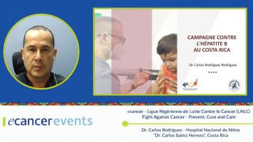 "Costa Rica´s Hepatitis B campaign ( Dr. Carlos Rodriguez - National Children's Hospital ""Dr. Carlos Saénz Herrera"", Costa Rica )"