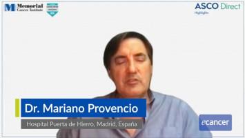 Evolución del tratamiento en el cáncer de pulmón ( Dr. Mariano Provencio - Hospital Puerta de Hierro, Madrid, España )