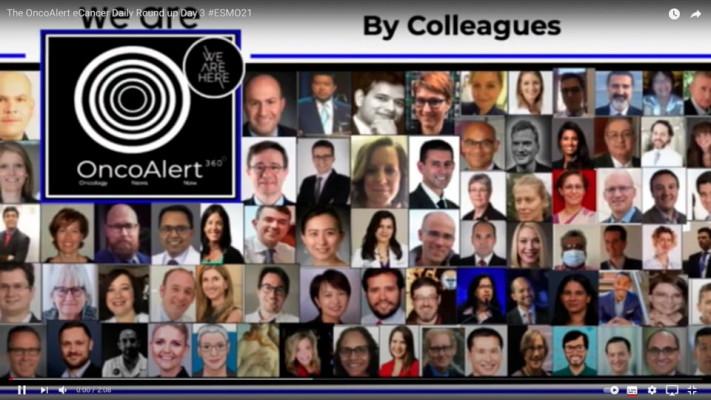 OncoAlert and ecancer - ESMO 2021 Day 3