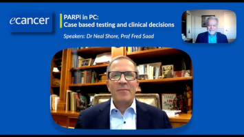 PARP inhibitors in prostate cancer: Case based testing and clinical decisions ( Dr Neal Shore and Prof Fred Saad )