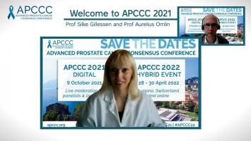 Welcome to APCCC 2021 ( Prof Silke Gillessen and Prof Aurelius Omlin )