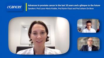 Advances in prostate cancer in the last 10 years and a glimpse to the future ( Prof Laura-Maria Krabbe, Prof Karim Fizazi and Prof Johann De Bono )