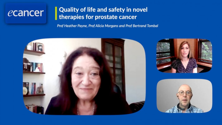 Quality of life and safety in novel therapies for prostate cancer